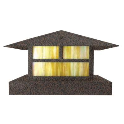Centennial 1-Light Outdoor LED Weathered Brown Area Light Product Photo