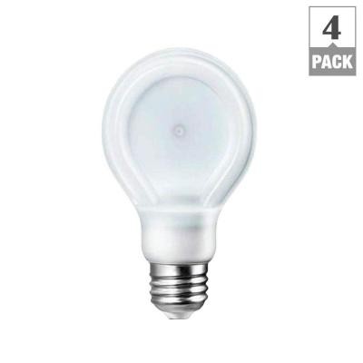 SlimStyle 40W Equivalent Daylight (5000K) A19 Dimmable LED Light Bulbs (4-Pack)