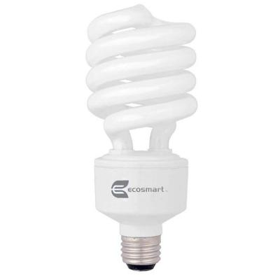 150W Equivalent Soft White Spiral 3-Way CFL Light Bulb