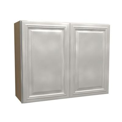 36x30x12 in. Coventry Assembled Wall Cabinet with 2 Doors in Pacific
