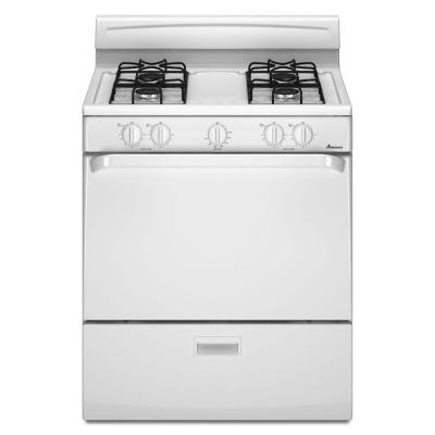 Amana 4.4 cu. ft. Gas Range in White...