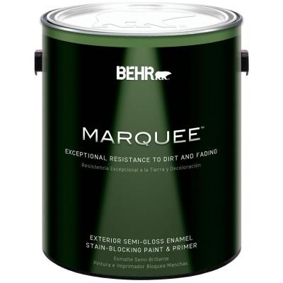 1-gal. Ultra Pure White Semi-Gloss Exterior Paint