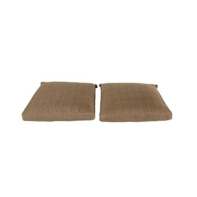 Castle Rock Replacement Outdoor Dining Chair Cushion (2-Pack)