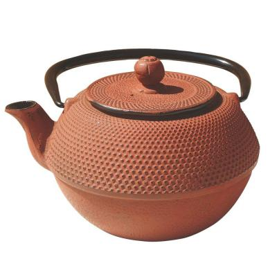 Old Dutch 37 oz. Brick Cast Iron Vitality Teapot-DISCONTINUED