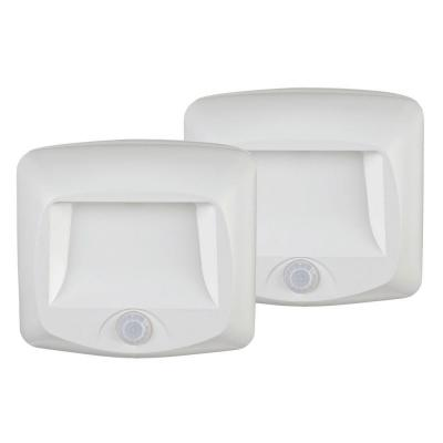 Mr. Beams Outdoor Wireless Motion Sensing LED Step/Stair Light (2-Pack)