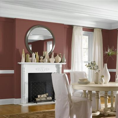 5-gal. #S150-7 Fire Roasted Eggshell Enamel Interior Paint
