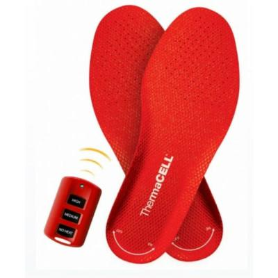 Unisex X-Large Red Rechargeable Heated Insoles