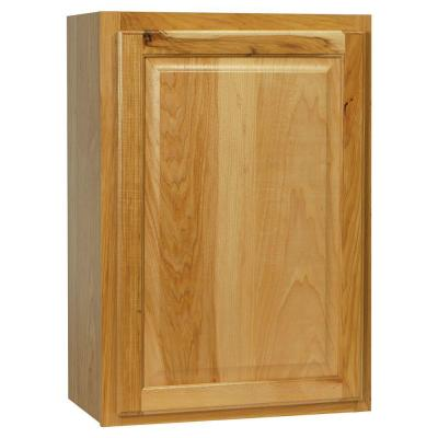 21x30x12 in. Hampton Wall Cabinet in Natural Hickory