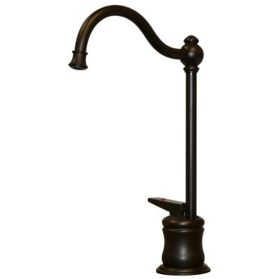 Whitehaus Collection Forever Hot Single-Handle Instant Hot Water Dispenser Faucet in Oil Rubbed Bronze