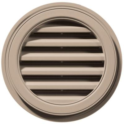 18 in. Round Gable Vent #023 Wicker Product Photo