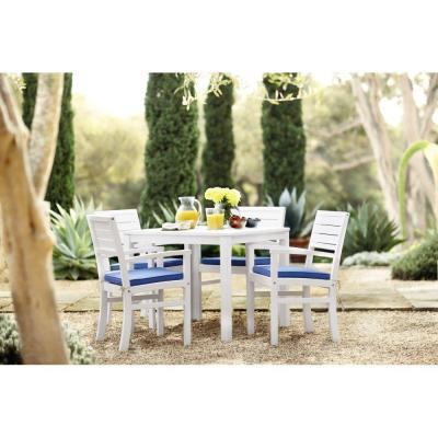 Martha Stewart Living Lake Carolina Picket Fence Patio Dining Set (5-Piece)-DISCONTINUED