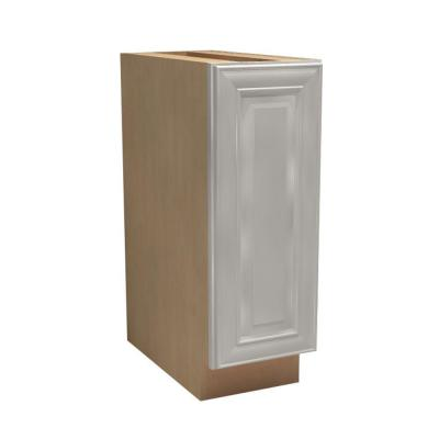 18x34.5x24 in. Brookfield Assembled Base Cabinet with 1 Wastebasket in Pacific