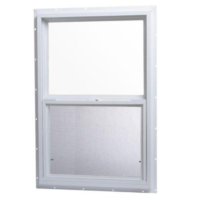 24 in. x 36 in. Single Hung Vinyl Window - White Product Photo