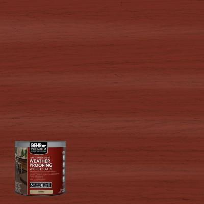 8-oz. #ST330 Redwood Semi-Transparent Weatherproofing Wood Stain Sample