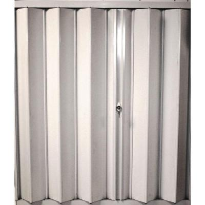 POMA 40.25 in. x 46 in. Accordion Hurricane Shutter