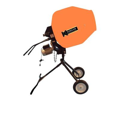 Kushlan 10 cu. ft. 1 HP 120-Volt Motor Direct Drive Cement Mixer with Moveable Pedestal-DISCONTINUED