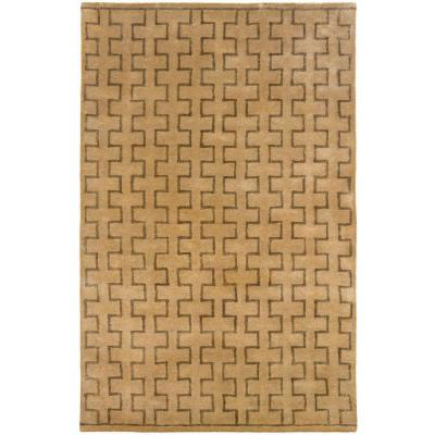 LR Resources Contemporary Natural 9 ft. x 12 ft. 9 in. Rectangle Plush Indoor Area Rug