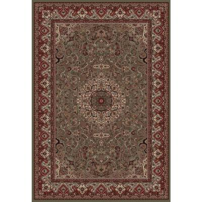 Persian Classics Isfahan Green 7 ft. 10 in. x 11 ft.