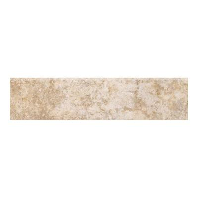 MARAZZI Campione Armstrong 3 in. x 13 in. Porcelain Bullnose Floor and Wall Tile