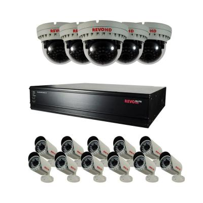 Elite HD 16-Channel 1080P 8TB NVR Surveillance System with (16) 2.1 Megapixel HD Cameras Product Photo