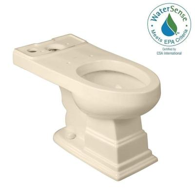 Structure Suite Elongated Toilet Bowl Only in Biscuit Product Photo
