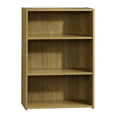 Beginnings Collection 35 in. 3-Shelf Bookcase in Highland Oak