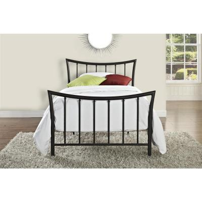 DHP Bali Bronze Twin Bed Frame