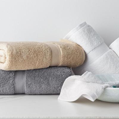 Cotton Cashmere Solid Wash Cloth
