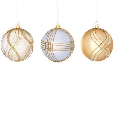 Holiday Collection 3 in. Shatterproof Ball Ornament (6-Pack)