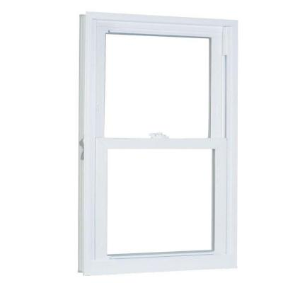 23.75 in. x 61.25 in. 70 Series Double Hung Buck PRO Vinyl Window - White Product Photo