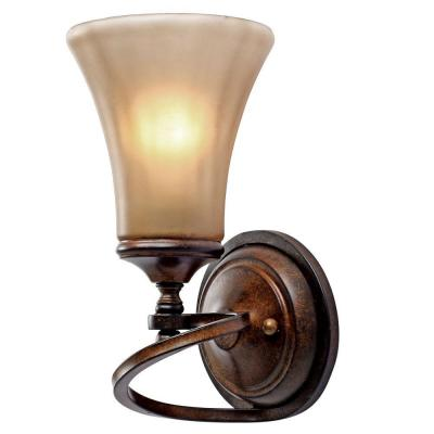 Sieva Collection 1-Light Russet Bronze Sconce