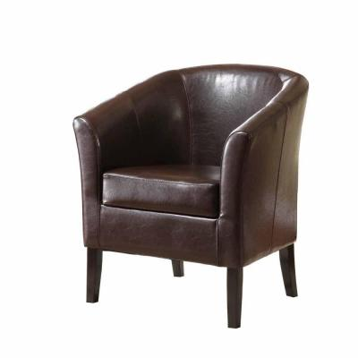 Home Decorators Collection Brown Simon Club Chair