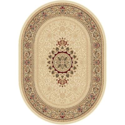 Sensation Ivory 5 ft. 3 in. x 7 ft. 3 in.