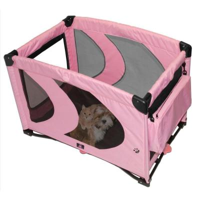 Pet Gear 36.5 in. L x 25.5 in. W x 25.5 in. H Home 'N Go Pet Pen PG4200PI