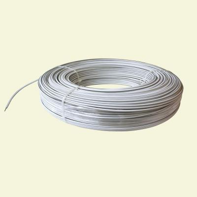 1320 ft. 12.5-Gauge White Safety Coated High Tensile Electric Fence Wire Product Photo