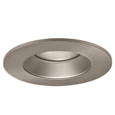 Halo 4 in. Satin Nickel Specular Recessed Lighting LED Reflector Trim