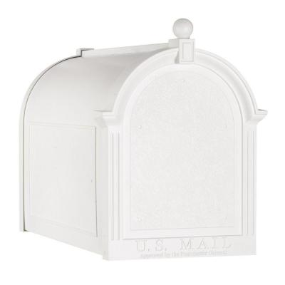 Streetside Mailbox in White Product Photo