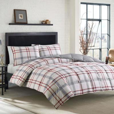 Portage Bay Plaid Cotton Comforter Set