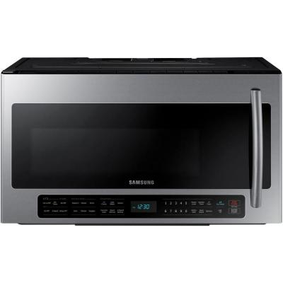 30 in. 2.1 cu. ft. Over the Range Microwave in Stainless