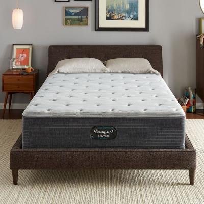 11.75 in. Medium Firm Mattress with 6 in. Box Spring