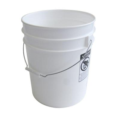 Argee 5 gal. White Pail (10-Pack)