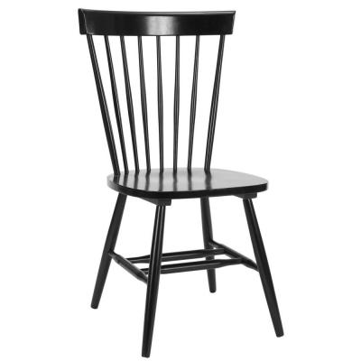 Safavieh Riley Dining Chair in Black (Set of 2)