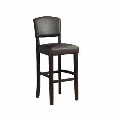 Home decorators collection monaco bar stool 0218vesp 01 kd u the home depot Home depot wood bar stools