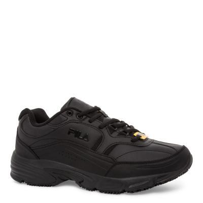 Men's Memory Workshift Slip Resistant Athletic Shoes - Steel Toe