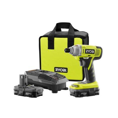 Ryobi Reconditioned 18-Volt Lithium-Ion Impact Driver Kit