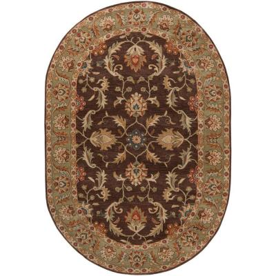 John Brown 8 ft. x 10 ft. Oval Area Rug