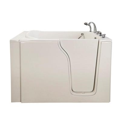 Bariatric 33 4.58 ft. x 33 in. Walk-In Air Bath Tub in White with Right Drain/Door Product Photo