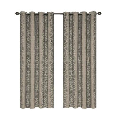 Nadya Blackout Polyester Curtain Panel