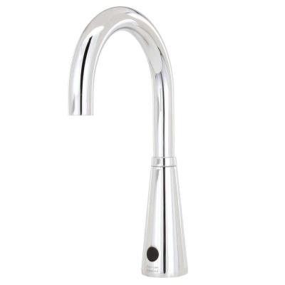 Selectronic DC Powered Single Hole Touchless Bathroom Faucet with 6 in.