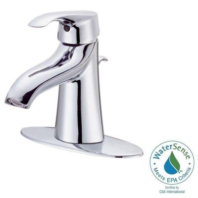 Corsair 4 in. Centerset Single-Handle Bathroom Faucet in Chrome